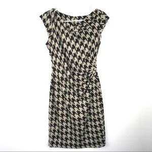 Danny & Nicole 4 Cap Sleeve Knit Dress Cowl Neck